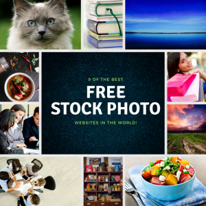 collage of stock photos