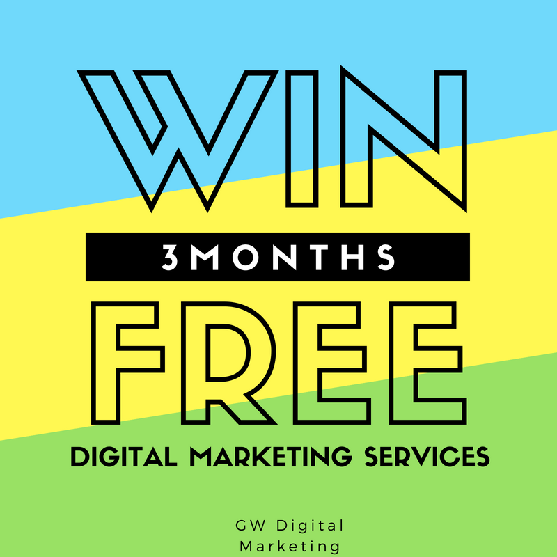 win three free months digital marketing services