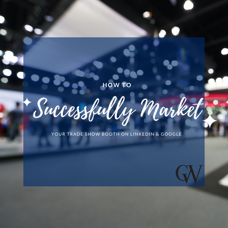 how to market trade show booth